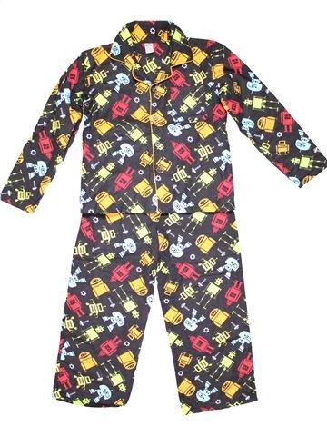 2 pieces Pyjama boy NO BRAND gray 9 years winter #7311_1