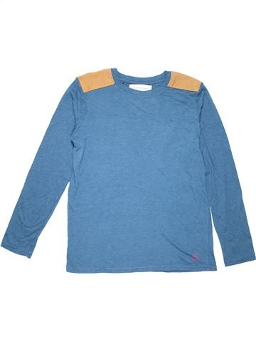 Long sleeve T-shirt boy RIVER ISLAND blue 12 years summer #755_1