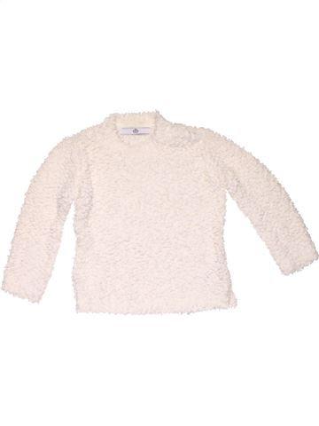 Long sleeve blouse girl M&S black 4 years winter #7582_1