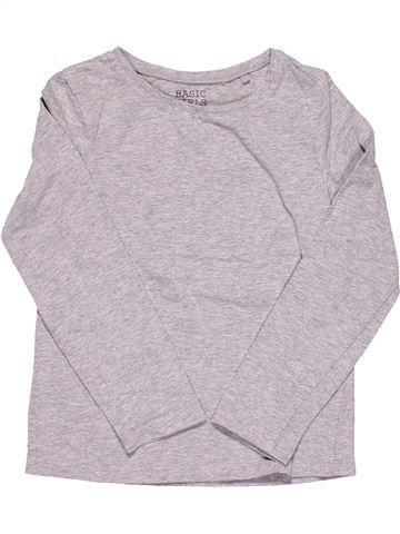 Long sleeve T-shirt girl PALOMINO gray 6 years winter #8014_1