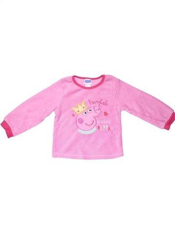 Sweatshirt girl PEPPA PIG pink 4 years winter #8259_1