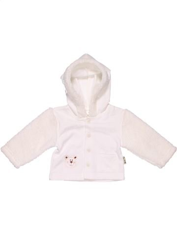 Sweatshirt unisex NO BRAND white 1 month winter #8555_1