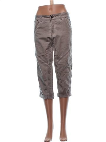 Cropped Trouser woman BON'A PARTE UK 20 (XL) summer #857_1