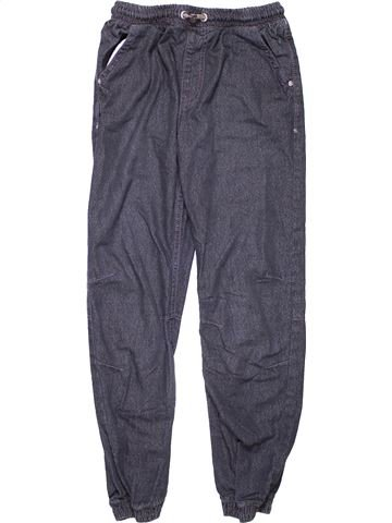 Trouser boy GEORGE blue 13 years winter #9463_1