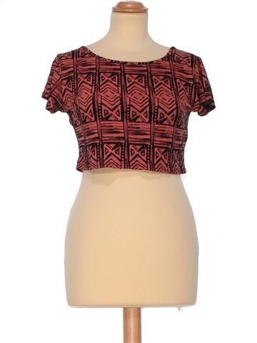 Short Sleeve Top woman BOOHOO UK 12 (M) summer #950_1