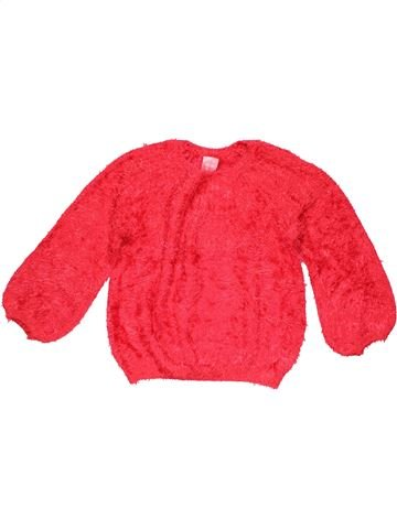 Jumper girl ZARA red 8 years winter #9987_1